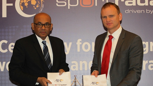 New AFC-Sportradar agreement continues battle against match-fixing
