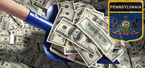 Pennsylvania gambling tax revenue