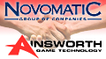 Novomatic to acquire majority stake in Ainsworth Game Technology
