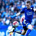 Jamie Vardy Wins the Football Writers' Association (FWA) Footballer of the Year Award