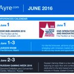 CalvinAyre.com Featured Conferences & Events: June 2016