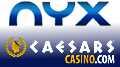 CaesarsCasino re-launch on NYX platform; GAN spanked over NJ geolocation fail