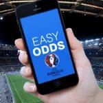 Odds comparison site Easyodds.com launch Euro 2016 app