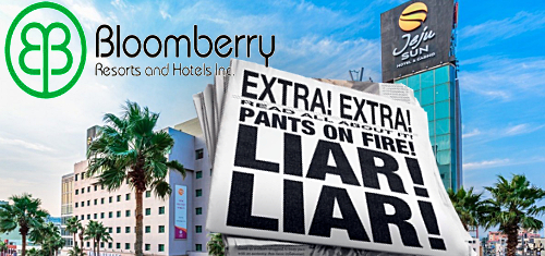 Bloomberry denies Iao Kun's claims of extending Jeju Sun deal deadline