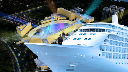 Okada Manila plans to build port for large cruise ships