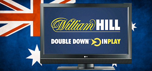 Aussie bookie TV spending up one-quarter; William Hill doubles down on in-play