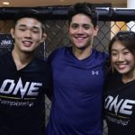 Olympic gold medalist Joseph Schooling trains MMA with Christian and Angela Lee
