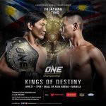 ONE: Kings of destiny announces stacked card for Manila this 21 April