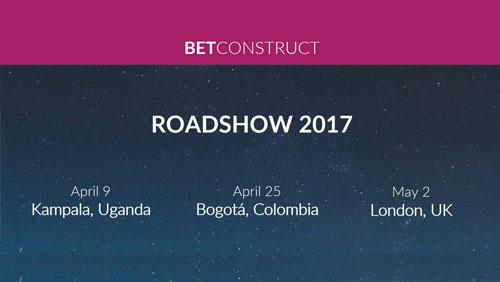 BetConstruct Roadshow 2017: Next stops are Kampala, Bogota and LondonBetConstruct Roadshow 2017: Next stops are Kampala, Bogota and London