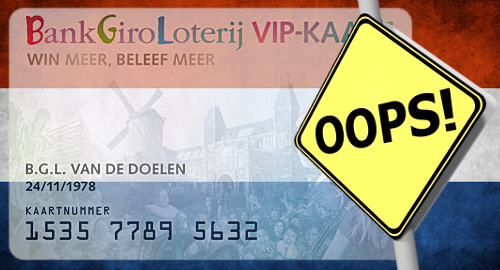Dutch charity lotteries apologize for exposing player data