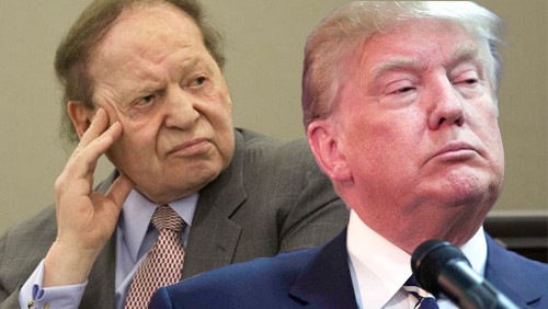 Fragile Adelson-Trump alliance begins to crack