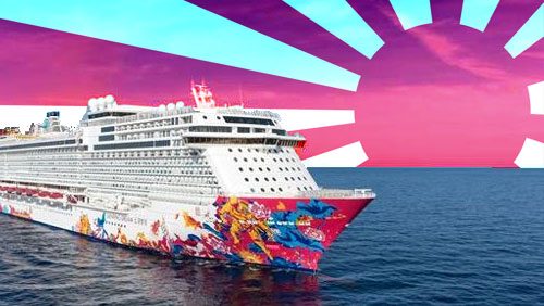 Genting Dream cruise makes maiden voyage to Japan's Okinawa