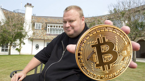 Kim Dotcom's new Bitcoin venture will pay content uploaders