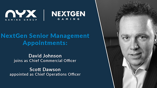 NextGen Gaming's senior management team strengthened with double appointment