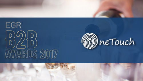 OneTouch.io nominated for two major awards