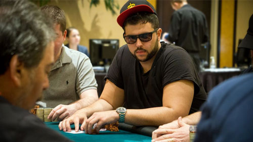 Salomon Ponte crosses the line on Poker Night in America