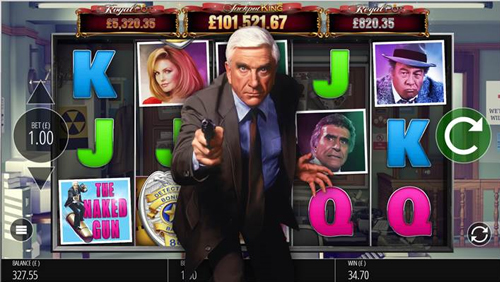 "Blueprint Gaming launches slot game based on Paramount Pictures' ""Naked Gun"""