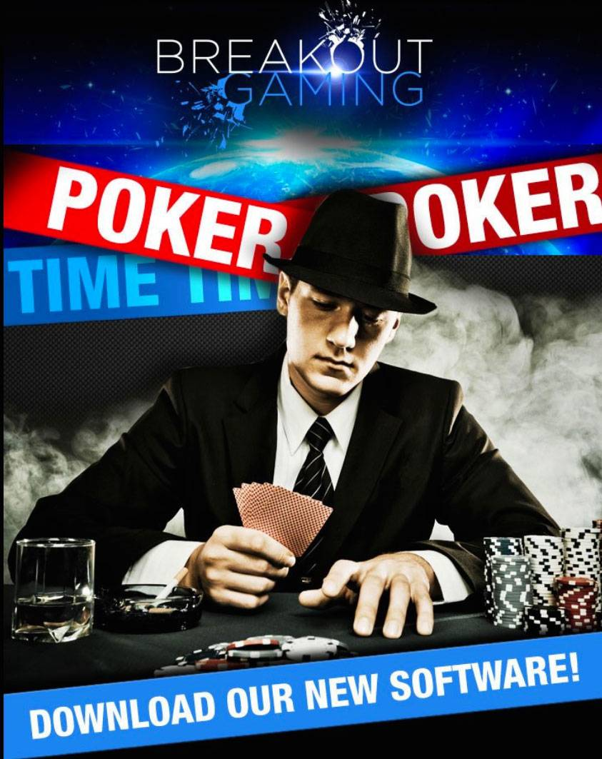 BreakoutGaming.com Launches Online Poker Room with a €62,000 Freeroll Event