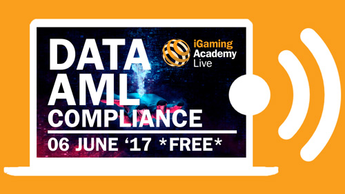 Free iGaming webinar: The challenges of data and AML compliance – 06 June