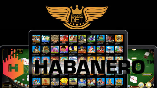 Habanero content live on EscapeBET