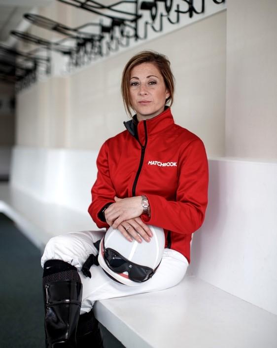 Hayley Turner announced as Matchbook brand ambassador