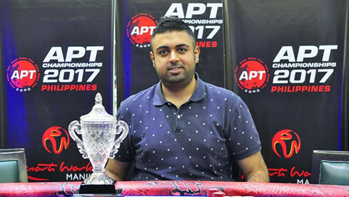 Champions Cup Winner, Dhanesh Chainani