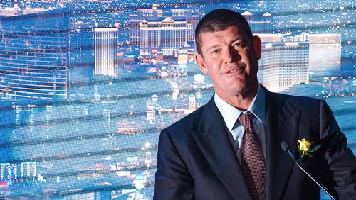James Packer abandons Las Vegas casino dream