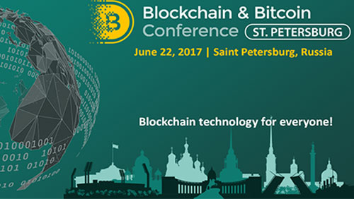 Saint Petersburg will hold a large-scale blockchain event following Moscow, Prague, and Tallinn