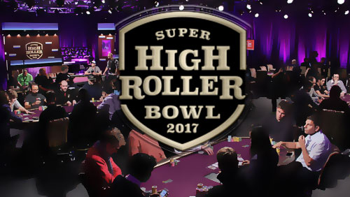 Super High Roller Bowl Day 1 News and Aria High Roller results