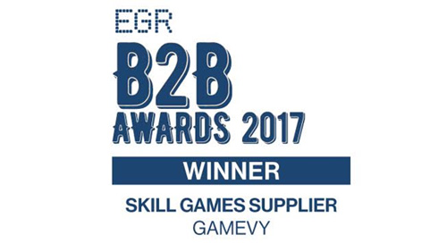 Gamevy Scoops EGR Skill Supplier for the second year running