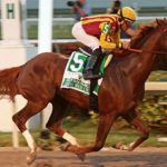 Irish war cry returns as Belmont favorite after skipping preakness