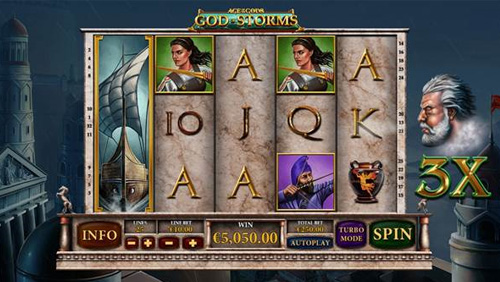 Playtech unleashes Age of the Gods God of Storms