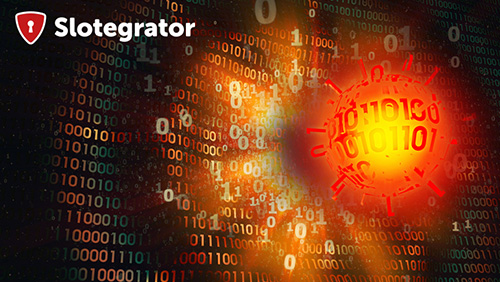 A virus attack on Slotegrator