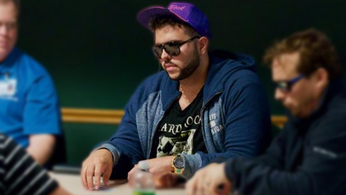 The WSOP show Salomon Ponte no charity; Matt Stout has plenty