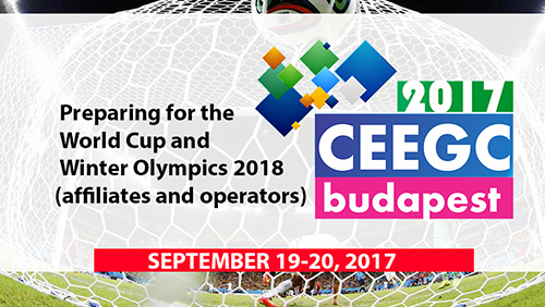 CEEGC 2017 Budapest Agenda for Day 2 revealed – Affiliate and Operators preparing for 18's main events (Fifa World Cup and the Winter Olympics)