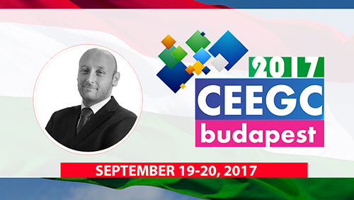 Emerging markets with Gabor Helembai (Hungary) and Jaka Repansek (Slovenia) during CEEGC 2017 Budapest