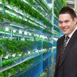 Former Intabill founder Daniel Tzvetkoff is running a vertical farm