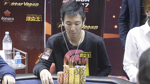 Malaysia's Aik Chuan commands Day 2 of the APT Main Event