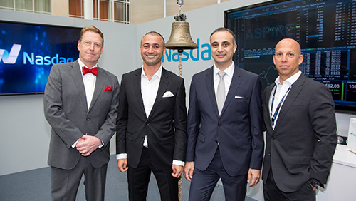 Nasdaq Stockholm welcomes Aspire Global to First North Premier