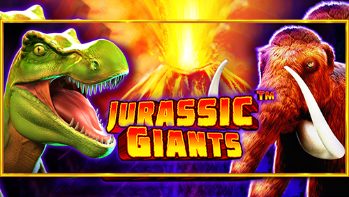 Pragmatic Play unleashes Jurassic Giants slot game!