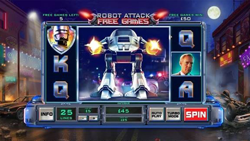 RoboCop powers onto Playtech slots portfolio