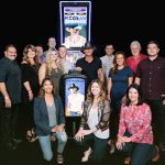 Tim McGraw with the new Tim McGraw slot game in Las Vegas