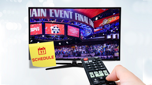 WSOP Main Event TV coverage nitty-gritty; WSOP Online UK to close