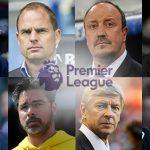 The 2017-18 Premier League Managerial sack race