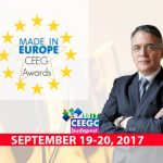 Dan Iliovici (President of the Romanian National Office for Gambling) to co-host the CEEG Awards presentations