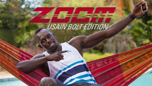 PokerStars announces Usain Bolt branded Zoom games and MEGASTACK Iberia
