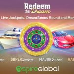 "Redeem the Dream""  – Aspire Global to launch proprietary progressive jackpot title"