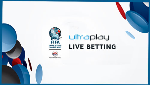 UltraPlay becomes the first provider to offer live betting on FIFA Interactive World Cup