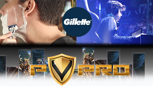 Gillette sponsors LOL team; PvPRO ink Sportradar deal