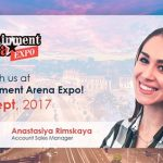 Meet Endorphina in Romania, at the Entertainment ArenaExpo 2017!